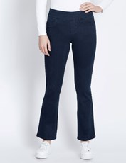 Katies Regular Straight Leg Ultimate Full Length Denim Jeans DARK DENIM