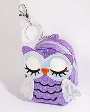 Lovisa Kids Purple Iridescent Owl Purse Keyring