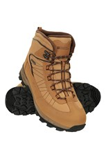 Mountain Warehouse Boulder Mens Winter Trekker Boots Beige
