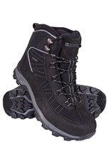Mountain Warehouse Boulder Mens Winter Trekker Boots Dark Grey