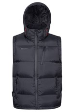 Mountain Warehouse Frost Extreme Mens Down Padded Gilet Black