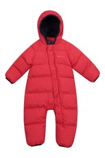 Mountain Warehouse Frosty Junior Padded Suit Red