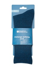 Mountain Warehouse Melange Mens Walking Socks Blue