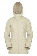 Mountain Warehouse Pines Womens Long Softshell Jacket Beige