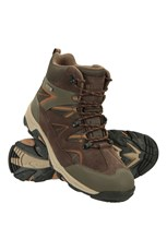 Mountain Warehouse Rapid Mens Waterproof Boots Brown