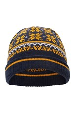 Mountain Warehouse Snow Knitted Kids Beanie Navy