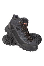 Mountain Warehouse Tempest Mens Waterproof Boots Dark Grey