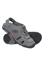 Mountain Warehouse Trek Mens Mountain Warehouse Shandals Dark Grey