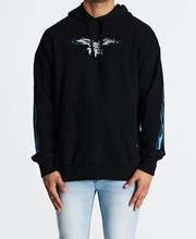 Thrills Gateway Slouch Pull On Hoodie Black