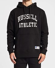 Russell Athletic Pro Cotton Arch Logo Hoodie Black
