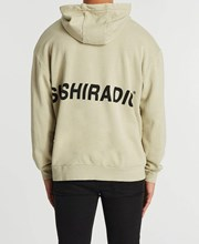 Sushi Radio Vandals Relaxed Hoodie Pigment Feather Grey