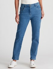 NONI B CASSIDY FLY FRONT JEAN SHORT FADED DENIM
