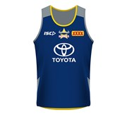 Isc North QLD Cowboys Kids Training Singlet 2018
