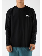 Rusty Competition Long Sleeve Rashie Mens
