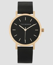 The Horse Mini Original Polished Rose Gold / Black Band
