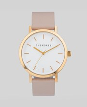 The Horse Polished Rose Gold / Blush Band / White Face