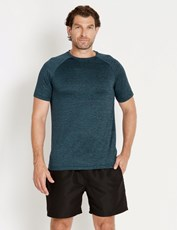Rivers Active Raglan Tee Green