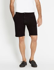 Rivers Stretch Chino Short Black