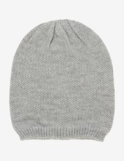 Rivers Textured Reversible Beanie Grey