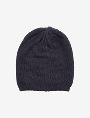 Rivers Textured Reversible Beanie Navy