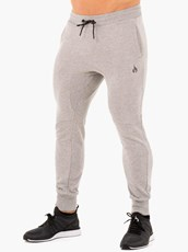 Ryderwear Athletic Fleece Track Pants Grey Marl