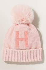 Seed Heritage Initial Beanie H