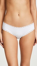 Natori Bliss Cotton Girl Briefs White