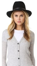 Rag & Bone Floppy Brim Fedora Black