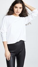 Atm Anthony Thomas Melillo Long Sleeve Boy Tee White