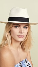 Rag & Bone Panama Hat White