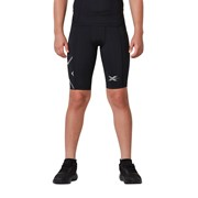 2XU Kids Compression Full Short - Black/Black