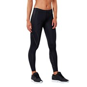 2XU Womens Compression Tights - Black/Nero