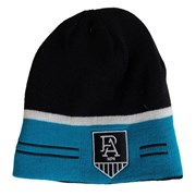 Burley Sekem Port Adelaide AFL Reversible Football Beanie - Port Adelaide