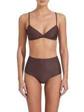 Matteau Swim The Tri Crop Top Clove
