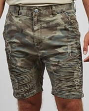 Kiss Chacey Zeppelin Shorts Camo