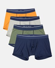 Mojo Mojo Iconic Trunks 4 Pack Multi