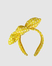 Morgan & Taylor Daphne Fascinator Yellow