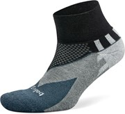 Balega Enduro Quarter Socks Black / Charcoal