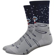 "DeFeet Aireator 6"" Moon Doggo Socks"