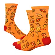 "DeFeet Aireator 6"" Pizza Party Socks"
