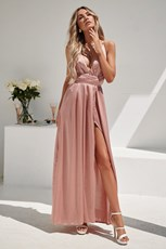 Shareen Girl On Fire Maxi Dress (Blush)