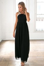 Xenia Boutique Stunner Maxi Dress (Black)