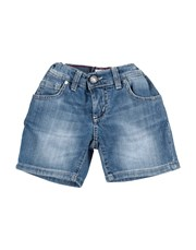 MANUEL RITZ Denim shorts 42764392